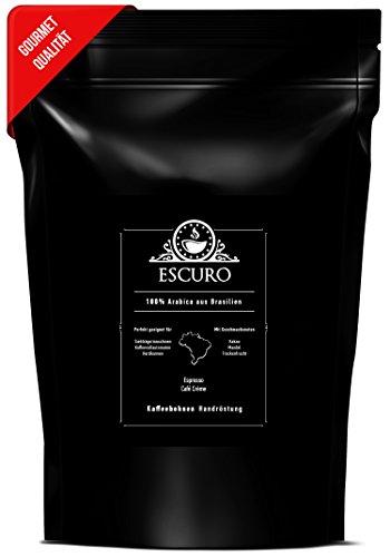 ESCURO Espressobohnen säurearm | 100% Arabica Kaffeebohnen Single Origin (Brasilien, Sul de Minas)...