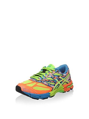 Asics Gel-Noosa Tri 10 GS, Scarpe sportive, Unisex-bambino Arancione/Giallo/Azzurro