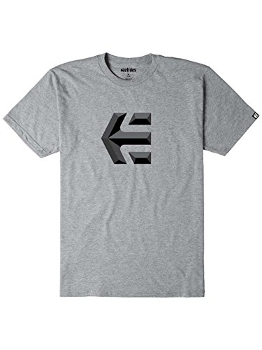 Etnies Herren T-Shirt Mod Icon Grey/Heather