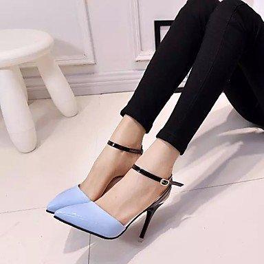 Moda Donna Sandali Sexy donna tacchi Primavera / Estate / Autunno tacchi / Punta abito in similpelle / Casual Stiletto Heel fibbia White