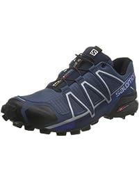 Salomon Speedcross 4, Chaussures de Trail Homme, Bleu