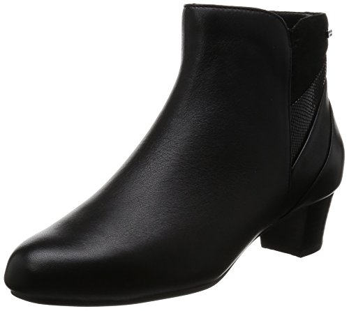 Rockport Total Motion Cherith, Stivaletti Donna Nero (Nero (Black Leather))