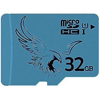 BRAVEEAGLE 32GB Clase 10 Tarjeta Micro SD U1 Tarjeta de Memoria microSDHC para Dash CAM/Tablet/GoPro (32GB U1)