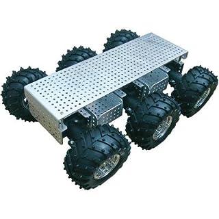 Arexx Gelände Roboterplattform JSR-6WD Ausführung (Bausatz/Baustein): Bausatz