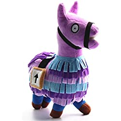 SKJIND Figures for loot Llama Plush Toy 10-Inch,Collectible Game Toys Rainbow Llama Stuffed Troll Stash,Gamer Gifts for Kids and Adults