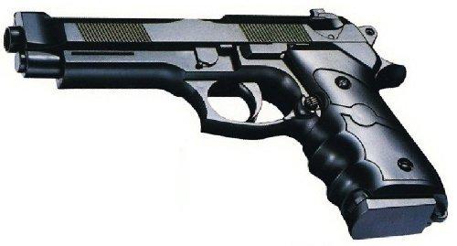 Nerd Clear Sport Softair Pistole Waffe 22cm! 0,5 Joule ab 14 Jahren freigegeb des Herstellers Nick And Ben