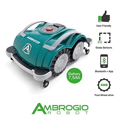 Ambrogio Rasenmähroboter Zucchetti Ambrogio L60 Deluxe 7.5Ah 400 qm