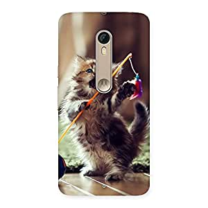 Gorgeous Dancing Cute Cat Back Case Cover for Motorola Moto X Style