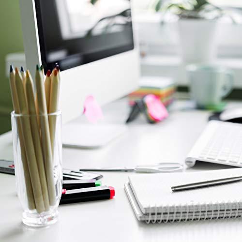 Relaxdays Dokumentenhalter Bambus, Briefablage, 5 Fächer Ordnungssystem, Schreibtisch Organizer HBT 23x24,5x20,5cm, weiß - 6