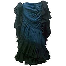 eb8a3ecaf1 Dancers World Ltd (UK Seller) El más Oscuro del Trullo Azul Negro Limita con