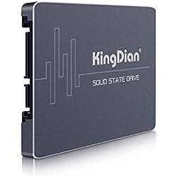 KingDian - Unità a stato solido SSD 60GB 120GB 240GB 480GB con cache 128M SATAIII S200 60GB