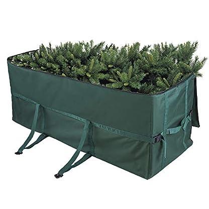 Lifeasy-Weihnachtsbaum-AufbewahrungstascheTragetasche-Schutzhlle-Strandtasche-150-cm-Green
