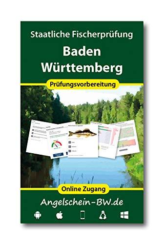 Online Trainer für die staatliche Fischerprüfung Baden-Württemberg 2019/20 (Zugangslizenz)