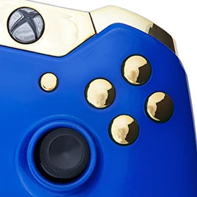 Xbox One Custom Controller - Royal Blue & Gold