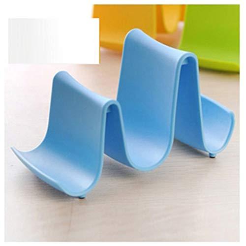 creatspaceE - Porta pentole in plastica Multifunzionale da Cucina, per coperchi e cucchiai