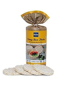 Haim Wholegrain Brown Rice Cakes with Buckwheat & Amaranth (Pack of 2)