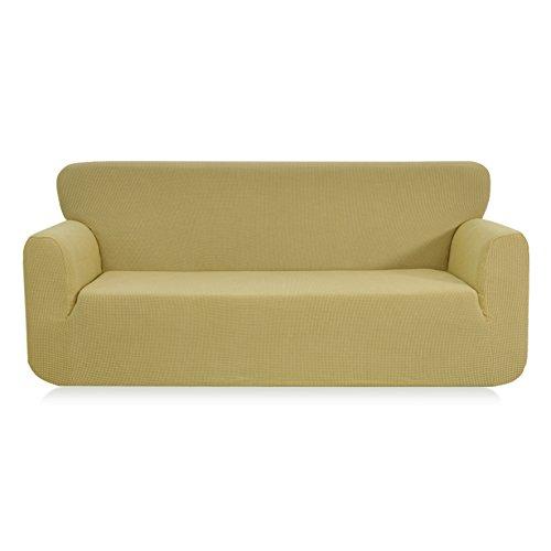 JIAOXM Stretch Anti-rutsch Sofa-Sets Stricken Volltonfarbe Vier Jahreszeiten-b 75 * 91inch