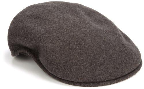 Kangol Herren Schirmmütze Wool 504, Grau (Dark Flannel Dark Flannel), XX-Large (Hersteller Größe:XX-Large) (Ivy Herren Cap Kangol)