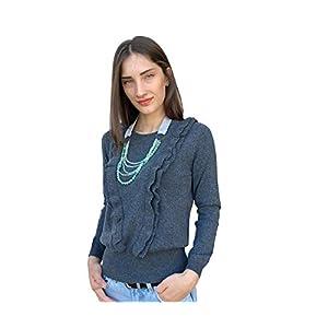 Pullover Strickjacke aus 100% reinem Kaschmir für Damen Strick-Pullover