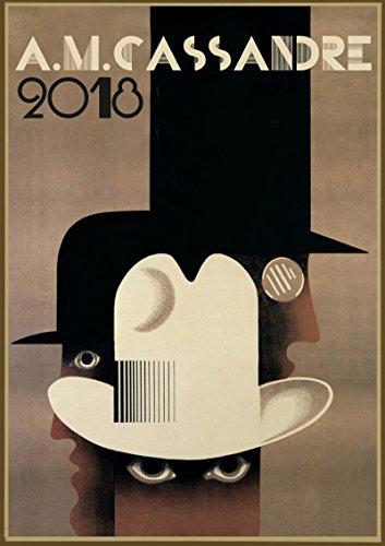 Calendrier mural 2018 [12 pages 20x30cm] A Cassandre Art Deco Vintage Publicite affiche Bauhaus [Calendar]