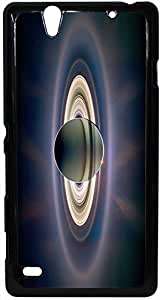 FCS® Printed 2D Designer Hard Back Case For Sony Xperia C4