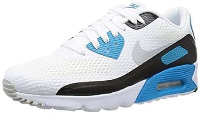size 40 71942 144bb Nike Air Max 90 Ultra Essential Schuhe white-neutral grey-laser blue-black