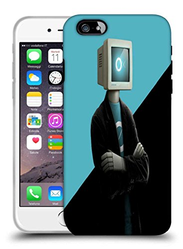 Snoogg-Monitor-Hauptmann 2880 Designer Protective Fall-Abdeckung für Apple iPhone 6 Plus