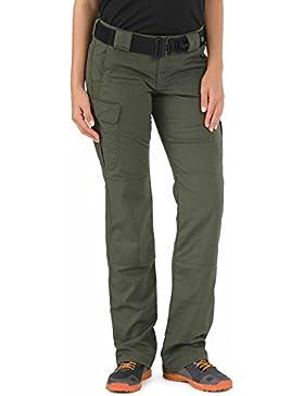 5.11 Tactical–Pantalones de la mujer, mujer, 64386, Verde (TDU Green), 6/R