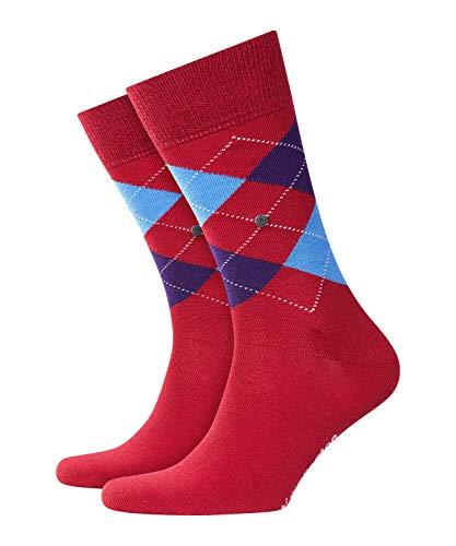 Burlington Edinburgh Herren Socken autumn red (8030) 40-46 One size fits all (Gr. 40-46)