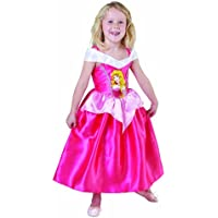 Costume Bella Addormentata Aurora economico bimba 5-6 (Aurora Bambino Costume)