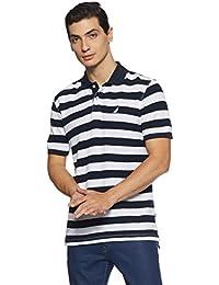 Nautica Men's Striped Slim Fit T-Shirt