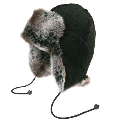66°North Erwachsene Mütze Kaldi Arctic Hat, Black, 1, L81736-900