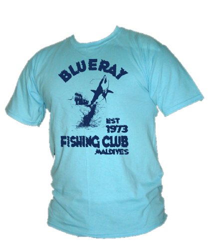 Blue Ray T-Shirts Herren T-Shirt Blau (Sky)