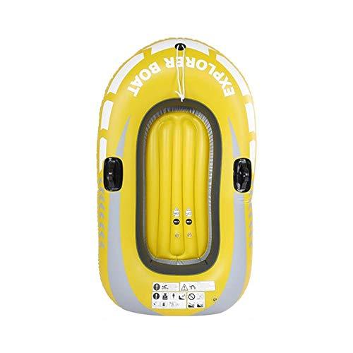 JVSISM Canoa Kayak Inflable Remo Pescar Playa Piscina