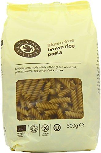 Price comparison product image Doves Farm Organic Brown Rice Fusilli 500 g (Pack of 6)