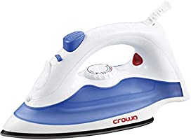 Crownline Steam Iron Cl-119 White And Blue