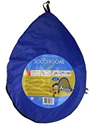 2 BUT DE FOOTBALL + BALLON FOOT PORTABLE POUR PLAGE CAMPING OU JARDIN POP UP PLIABLE