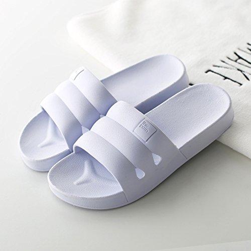 DogHaccd pantofole,Il bagno pantofole estate giapponese femmina indoor soggiorno home antiscivolo in plastica spessa coppie maschio bagno cool pantofole Il grigio4