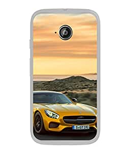 Snapdilla Designer Back Case Cover for Motorola Moto E2 :: Motorola Moto E Dual SIM (2nd Gen) :: Motorola Moto E 2nd Gen 3G XT1506 :: Motorola Moto E 2nd Gen 4G XT1521 (Sports Speed Safety Helmet Wallpaper Picture Bike)