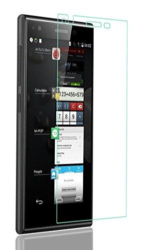 Panzerglas Folie für das ZTE Blade VEC 4G --- Tempered Glass Hartglas Displayschutz mit Härtegrad 9H nur 0,3 mm dick --- inkl. PATONA Displaypad