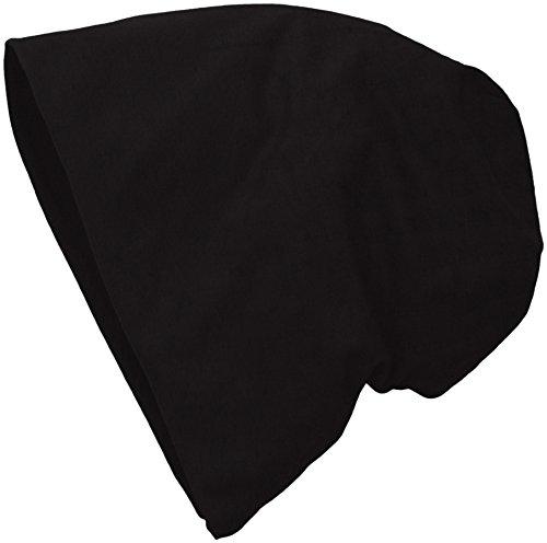 MasterDis Jersey Beanie-Berretti a maglia Unisex - Adulto    Schwarz (black 3412) Taglia unica (Taglia unica)