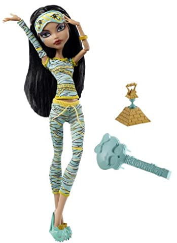 Monster High - V7974 - Poupée Pyjama Monster High - Cleo de Nile