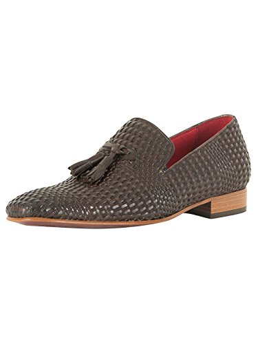 Jeffery West Homme Jung Chaussures en Cuir, Marron