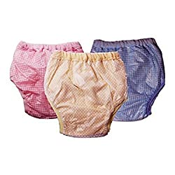 Chinmay Kids Baby Panty Dotted 3pcs (Diaper) (Multicolor)