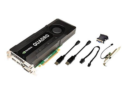 PNY NVIDIA Quadro K5000 MAC Grafikkarte (PCI-e, 4GB GDDR5 Speicher, DVI, 1 GPU) -