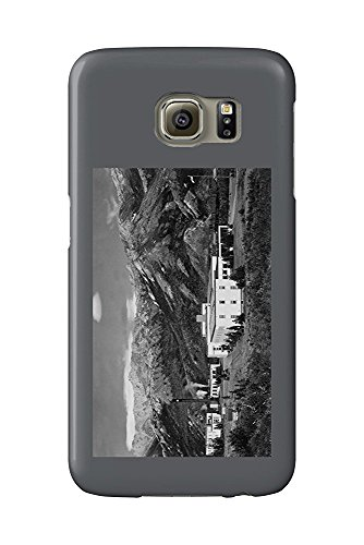 Mt. McKinley, Alaska - View of Hotel and National Park (Galaxy S6 Cell Phone Case, Slim Barely There) -