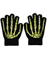 Skeleton Hand Style Fashion Gloves in a Selection of Colours