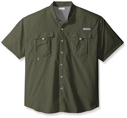 Columbia Men's Bahama II Shorts Sleeve Big/Tall Shirt, Cypress, X-Large (Cypress Herren Shirt)