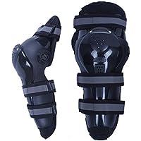 Xiaoping Carreras de Rugby de la motocicleta de la fibra de carbono Off - Equipo del caballero de la rodilla de la rodilla del vehículo de camino