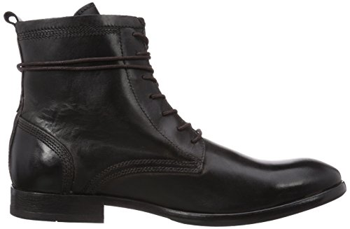 Hudson Swathmore, Bottes Motardes Homme Noir (rubber Black)